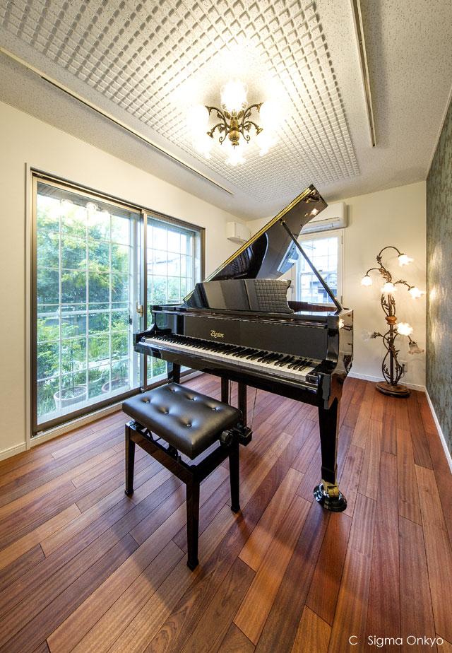 ピアノ防音室施工事例